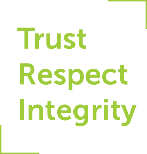 Trust, Respect, Integrity