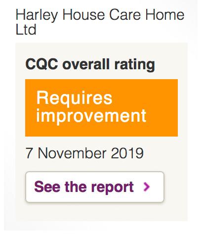 Quality Commission rating